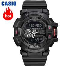 Casio watch Multi-functional double-display fashion sports waterproof men's watches GA-400-1B GA-400-7A все цены