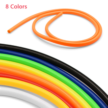 Motorcycle Gasoline Pipe Color Oil Pipe High Temperature Resistant Double-Layer Hose Petrol Carburetor Connecting Rubber Pipe