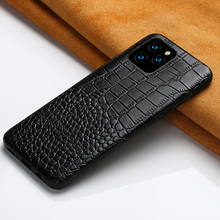 Genuine Leather Case for iPhone 12 Mini 12 Pro Max 11 Pro Max X XR XS max 5 5s 6S 6 7 8 Plus SE 2020 360 Full protective Cover