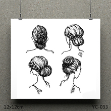 AZSG fashion style Clear Stamps/seal for DIY Scrapbooking/Card Making/Photo Album Decoration Supplies