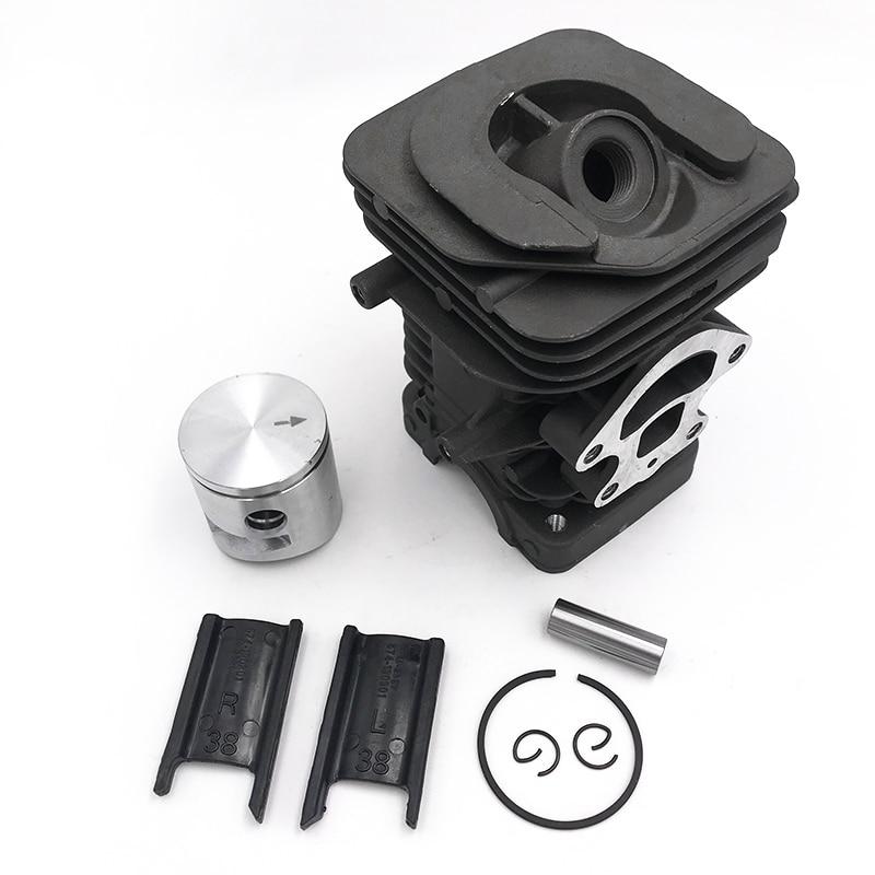 HUNDURE 39mm Big Bore Cylinder Piston Kit For Husqvarna 236 235 240 E Jonsered CS2234S CS2234 Chainsaw 545050418   417 Parts