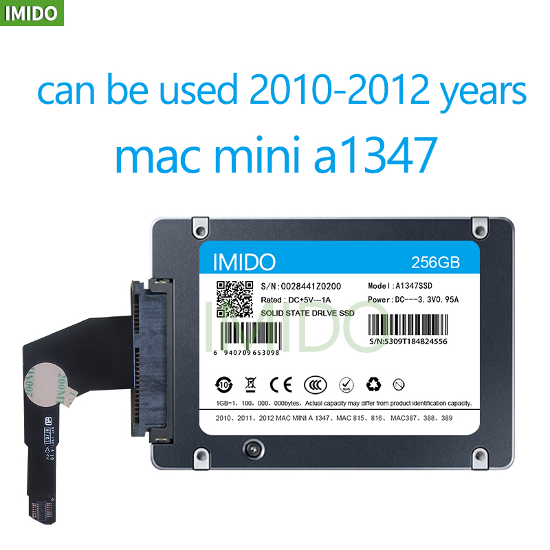 New 128GB 256GB SSD for Mac 2012 Mini A1347 with SSD plus converter plus tool Add a second solid state drive ssd 2010 2011