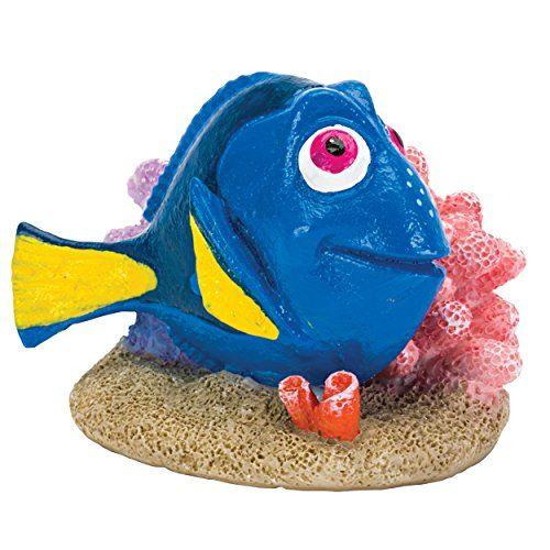 Penn-Plax 64674 Finding Dory With Coral, Mini