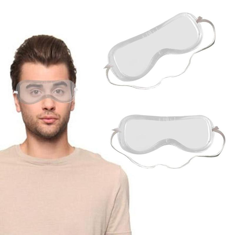 Prevent Saliva Splash Goggle Multifunction Transparent Anti Fully Enclosed Protection Eye Safety Glasses Windproof Dust