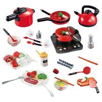 53 Pieces Funny Simulation Kitchen Cookware Utensils Cooking Requirements Kit Children Kids Cooking Pretend Playthings
