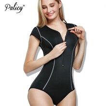 Mulheres elastano bodysuit controle calcinha tanga magro metade do corpo zíper collant manga curta esportes barriga corpo shaper tecido macio