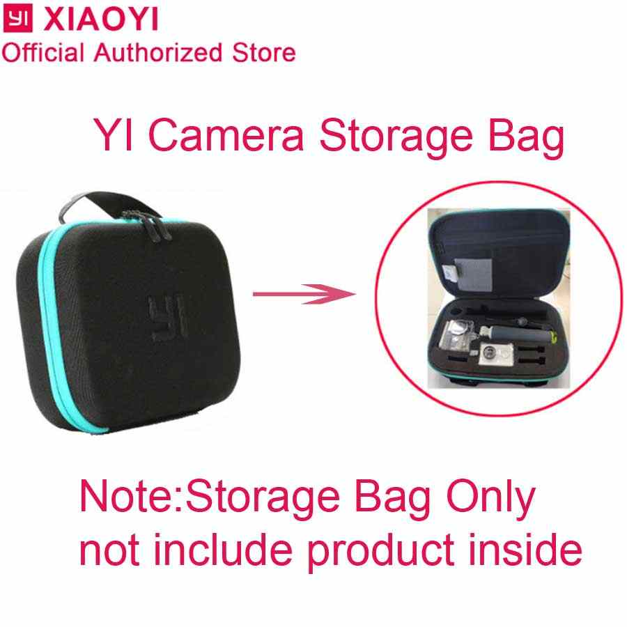Original Portable Storage Collection Bag Shockproof Case Cover For Xiaomi Yi 4K 4K plus Lite Sport Action Camera Accessories