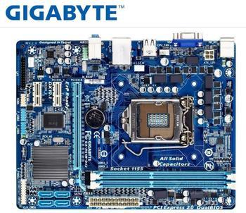 Original motherboard PC Gigabyte GA-H61M-DS2 DDR3 LGA 1155  H61M-DS2 H61 Desktop motherboard