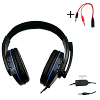 3,5mm Wired Gaming Kopfhörer Spiel Headset Noise Cancelling Kopfhörer mit Mikrofon Volume Control für PS4 Play Station 4 PC