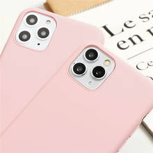 Summer Fruit Cute Pink Girl Phone Case For iphone 11 Pro Max Candy Soft TPU Case For iPhone XR XS Max X 7 8 6 6s Plus 5 SE 2020