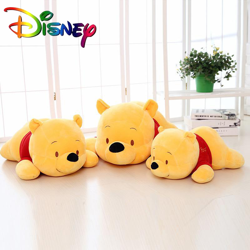 Disney new plush toy party version Winnie the Pooh toy Winnie the Pooh pillow birthday gift Winnie the Pooh doll stuffed pillow