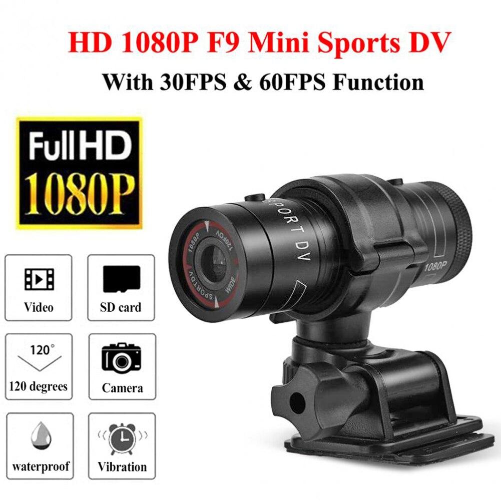 Full HD 1080P Dash Cam мини Спорт DV Камера Водонепроницаемый велосипед мотоцикл шлем экшн видеорегистратор камера идеально подходит для занятий спо...
