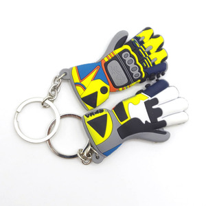 Image 5 - Glove Shape Motorcycle car keychain 3D  key ring for bmw key chain Yamaha VR46 llavero moto vespa Honda