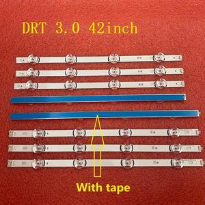 Image 2 - 5 סט = 40 PCS LED תאורה אחורית רצועת עבור LG 42LB5610 42LB5800 42LB585V 42LB 42LF 6916L 1709A 1710A 6916L 1957A 1956A 1956E 1957E