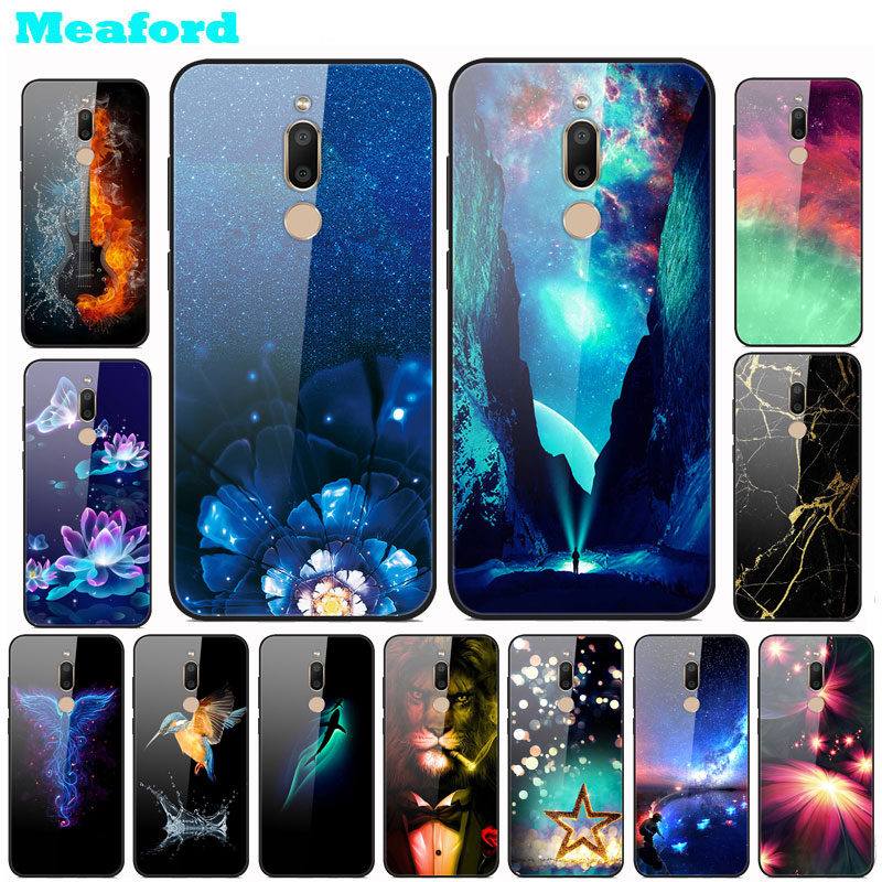 Tempered Glass Case For <font><b>Meizu</b></font> <font><b>M6T</b></font> Case Hard PC Colorful Cover For <font><b>Meizu</b></font> <font><b>M6T</b></font> <font><b>M811H</b></font> Phone Bumper Case Protective M 6T M6 T 5.7