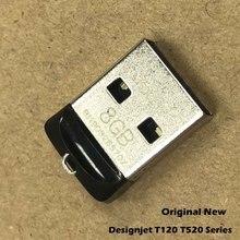 Original New Main PCA Board USB Key Flash Solve Blue Screen Erro For HP Designjet T520