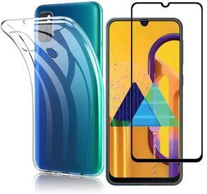 Для Galaxy M30 SM-M305F роскошный противоударный мягкий ТПУ чехол из углеродного волокна для Samsung Galaxy M30S M31 SM-M315F SM-M315F/DS
