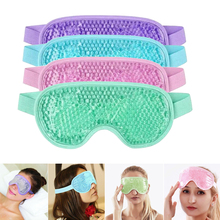 Sleep Mask Gel Eye Mask for Hot Cold Therapy Soothing Relaxing Beauty Sleeping Eye Patch Block Light Cover Eyemask Blindfold