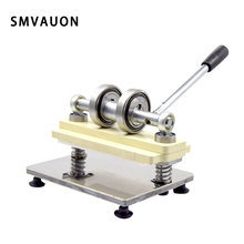 Manual Leather Die Cutting Machine Handmade PVC Sheet Mold Cuts Pressing Machine For Custom Laser Cutting Die SMVAUON