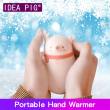 8000/6000mAh Hand Warmer USB Rechargeable Hand Warming Handy Heater Handwarmer Travel Handy Long-Life Mini Pocket Warmer kbxstart usb handy hand heater deer bunny power bank mini rechargeable polymer electric pocket heater hand warmer usb verwarmer