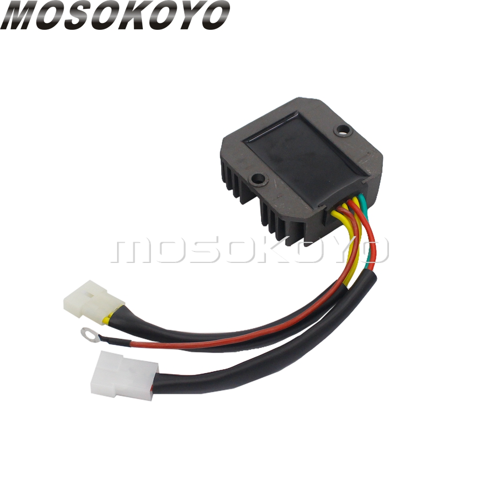 2-Pin Motorcycle Regulator 12v Voltage Rectifier For <font><b>BMW</b></font> Aprilia ST250 Leonardo 250/300 LC 1995-2006 Moto / Pegaso <font><b>650</b></font> image