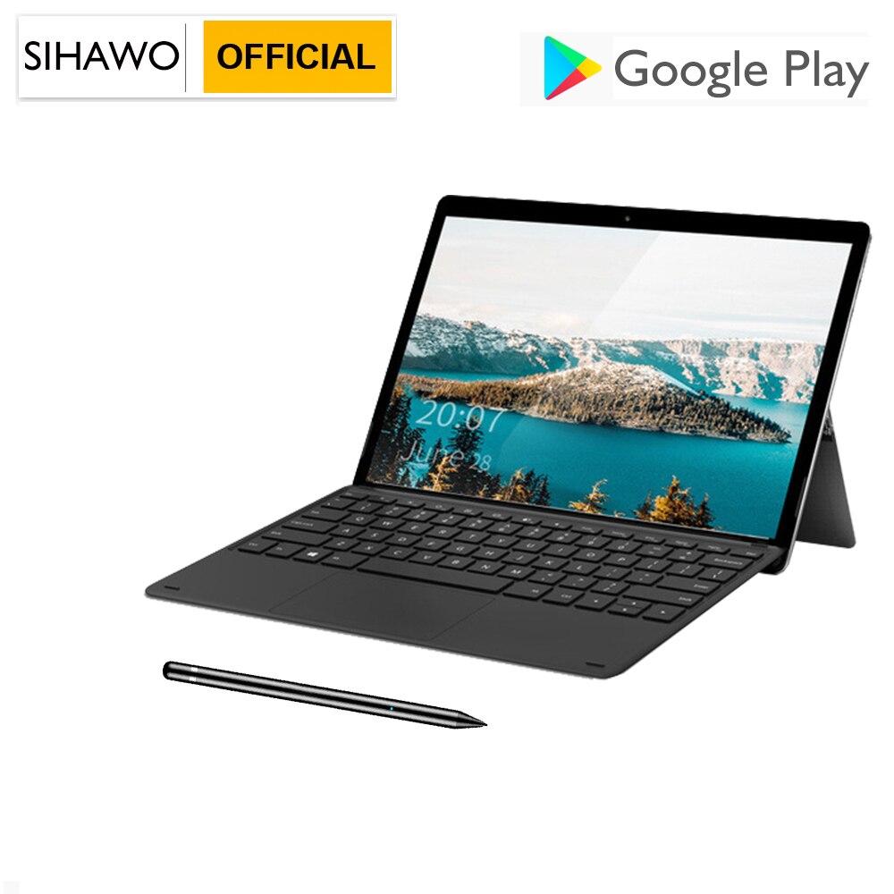 11.6 Polegada 8 gb ram 256 gb rom android 8 tablet pc mtk 6797 deca núcleo duplo sim 4g lte chamada de telefone 2560*1600 ultra magro 2in1 comprimidos