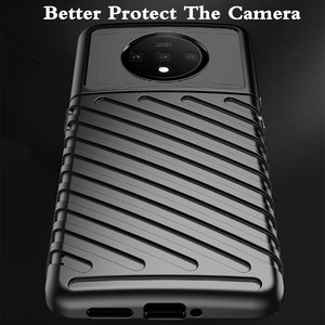Image 2 - for Oneplus 7T Case 7T Pro Cover TPU for Oneplus7t 7tpro Back Coque One Plus 7 T Shockproof 1+7t MOFi Anti Knock Full Edge