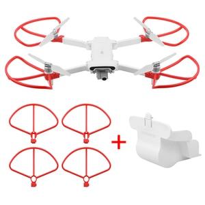 Image 3 - מתקפל מדחף + מורחב להגביר רגל חצובה + עדשת הגנת כיסוי + הגנת טבעות לxiaomi FIMI X8 SE Drone אבזרים
