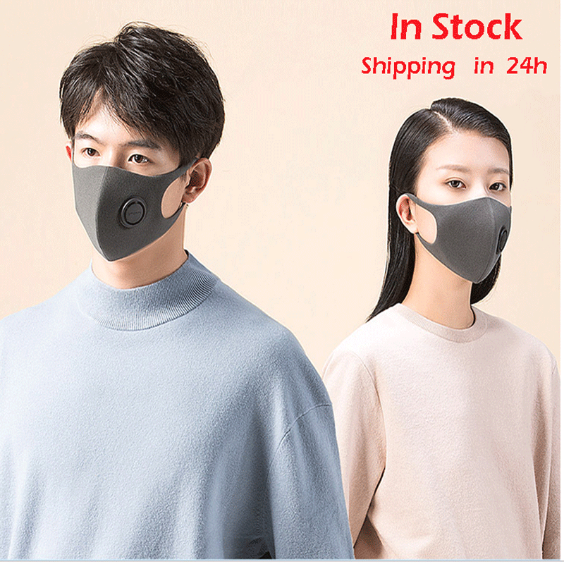 SmartMi Fast Delivery Hot Sale KN95 Pm2.5 Dustproof Anti-fog And Breathable Face Pm2.5 Mask Respirator Washable Reusable Mask