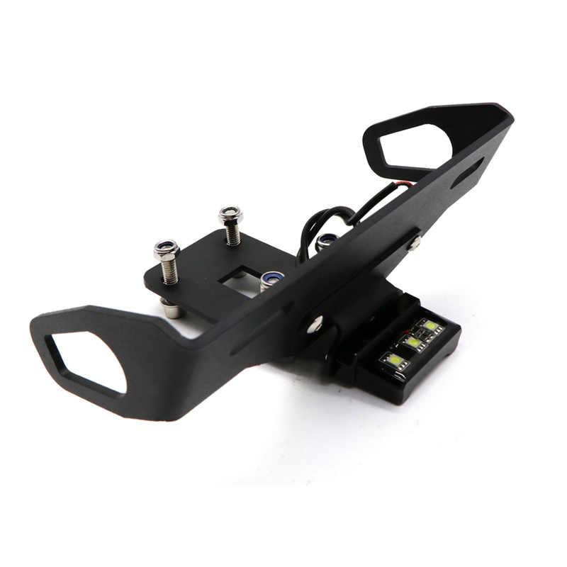 Держатель номерного знака светодиодный светильник для Kawasaki Z1000 2014-2017, Z1000R 2018-2019 аксессуары для мотоциклов ХВОСТ Tidy Fender Eliminator