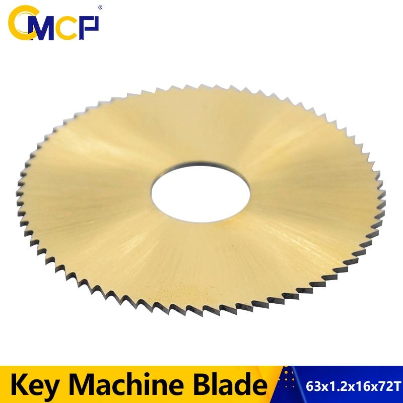 1 шт. диаметр 63 мм 72 т ключ машина для циркулярной пилы лезвие для ключа резак лезвие подходит 238BS 238RS машина для резки ключей Слесарные Инстру...
