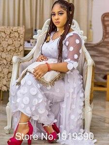Image 3 - Zwart Nigeriaanse Franse Kant Stoffen 2020 Afrikaanse Tule Kant Stof Hoge Kwaliteit Afrikaanse Kant Bruiloft Stof Voor Jurk CD21202