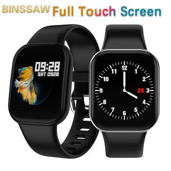 New Smart Watch Women Fitness Tracker Wristband Pedometer Full Touch Screen  Men Waterproof Heart Rate Monitor Sports Smartwatch