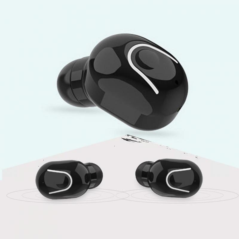 With Charging Bin Portable Home Mini Bluetooth Earphone Wireless Volume Control