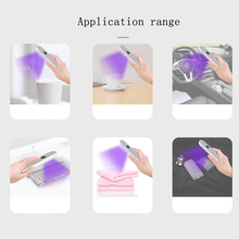 USB Rechargeable LED UV Sterilizer Lamp Home Portable Ultraviolet Disinfection Bactericidal Lamp UVC Germicidal Lamp Sterilizer