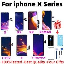 Bloc écran tactile LCD OLED TFT de remplacement, pour iPhone X XS XSMax XR 11