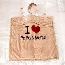Детское одеяло мягкие пушистые одеяла для новорожденных детское