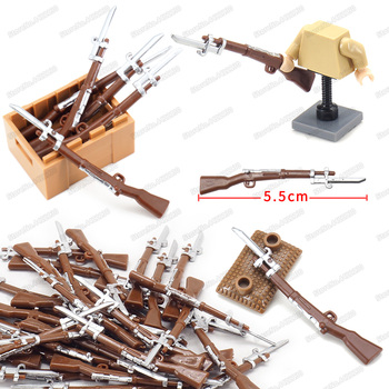 Military Building Block Army WW2 Combat Stab Guns Soldier Equipment Moc Special Forces Figures Battlefield Model Child Gift Toys