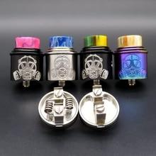 Vape 24 millimetri Apocalypse GEN 2 RDA Atomizzatore Ricostruibile Serbatoio Squonk BF PIN Coil Vaporizzatore Sigaretta Elettronica Box Mods Kit