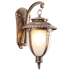 Retro waterproof outdoor wall lamp outdoor corridor courtyard stairs terrace balcony lamp creative aisle lamp