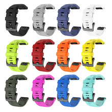 Pulseiras de relógio inteligente para garmin fenix 6 6s 6x 5x 5 5S 3 3hr forerunner 935 945 liberação rápida pulseira de silicone