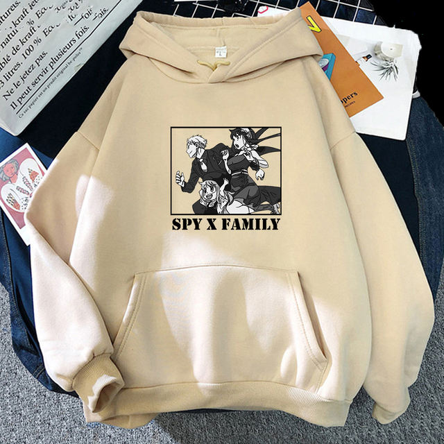 SPY X FAMILY THEMED HOODIE (12 VARIAN)