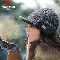 Naturehike Winter Warme Wolle Hüte Im Freien Männer Frauen Mode Winddicht Mützen Camping Reise Weiche Kappen