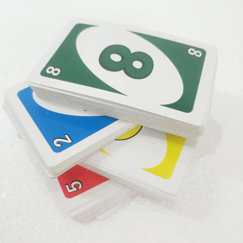 108 Playing Cards Family Children Entertainment Board Game Standard Fun Poker Playing Card Puzzle Intelligence Game Tool No Box