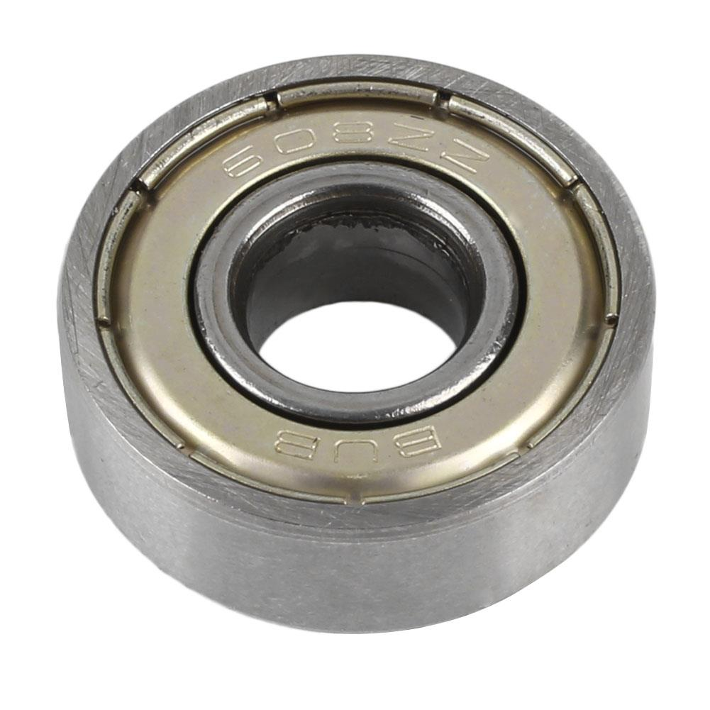 10pcs 608zz Bearings Skateboard Scooter Ball Roller Deep Groove Ball Bearings Skate Bearings Wheels Scooter Parts Accessories