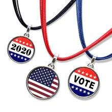 3 шт/лот модные подвески с избирательным девизом ожерелья надписью