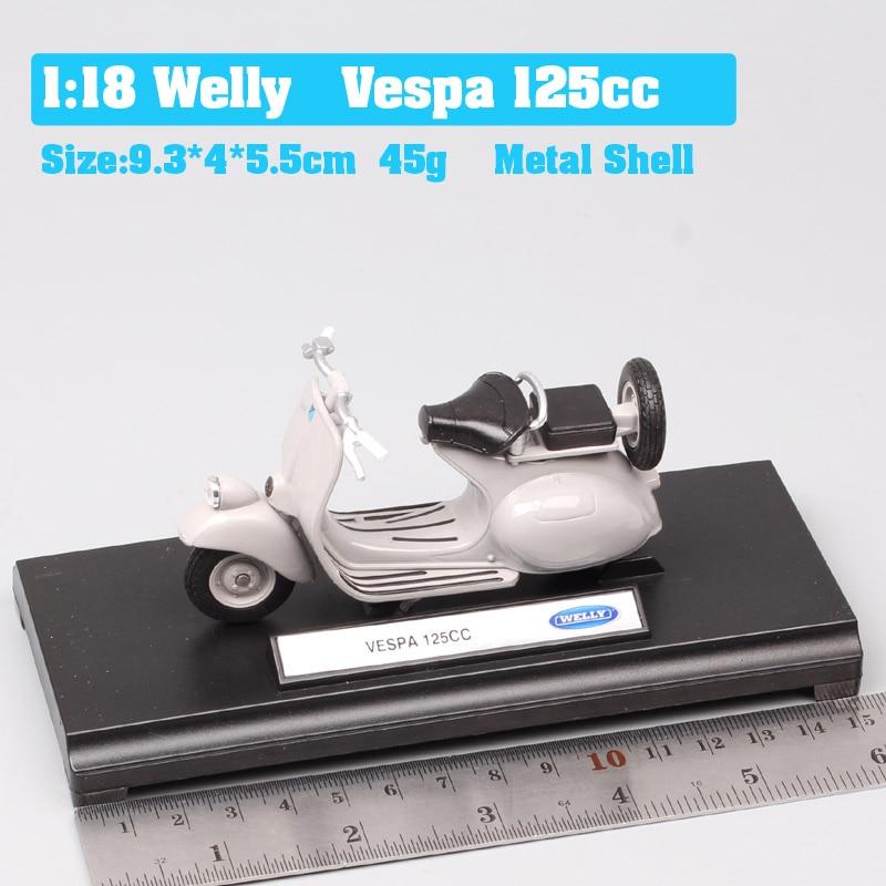 Vespa 125cc gray