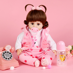 Image 4 - Realistic Reborn Doll 19 Inch Lifelike Handmade Soft silicone reborn toddler baby dolls Christmas surprise gifts lol toy