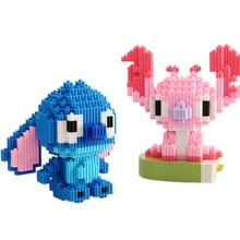 Мини мультфильм строительные блоки игра Мини DIY пластиковые строительные блоки для детей Подарки