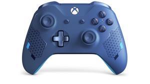 Image 5 - Tam konut Shell kiti yedek Thumbsticks ile düğmeler tampon Xbox One Slim denetleyici için 1708 spor mavi özel baskı